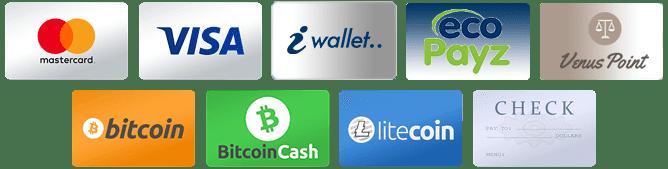 オンラインカジノでの支払い方法